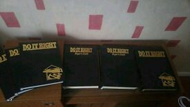 Complete set of do it right DIY manuals