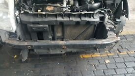 CITROEN C2 05 REG 1.4 HDI FRONT PANEL WITH RADIATOR