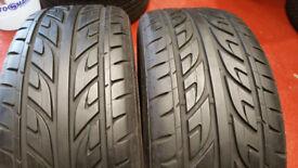 225 55 16 2 x tyres NEXEN N1000