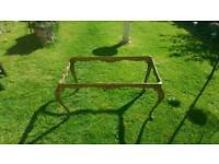 Brass Ornate Coffee Table Frame/Legs