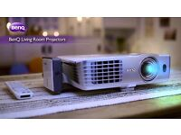 """BenQ Projector £250 OFF! W1080ST+ / HT1085ST 3D Full HD 1080P Short Throw (100"""" from 1.5M) Go BIG!"""