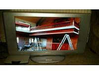 "Sanyo 28"" HD TV in good condition with free view box"