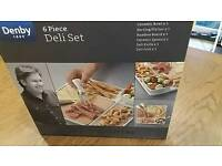 Denby 6 piece Deli Set