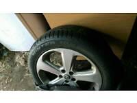 Vauxhall Mokka 18 inch alloy wheels with winter tyres x4