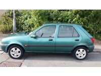 52 reg FIESTA 1.2 ,long MOT ,100% perfect drive (grab this bargain)