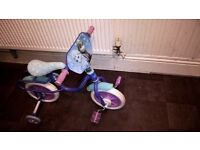 frozen 10 inch childrens bicycle stabilisers