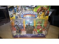 Skylanders Giants 3 figure pack new and sealed