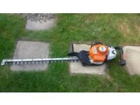 "stihl hs87r 32""single sided blade"