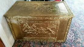 Brass box large