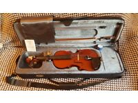 Stentor 4/4 violin used once perfect condition. Violin, bow, case and rosin.