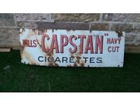 Vintage Advertising Sign for sale reasonable offers please can be viewed, North Berwick