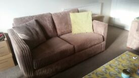 2 and 3 seater chunky cord sofas
