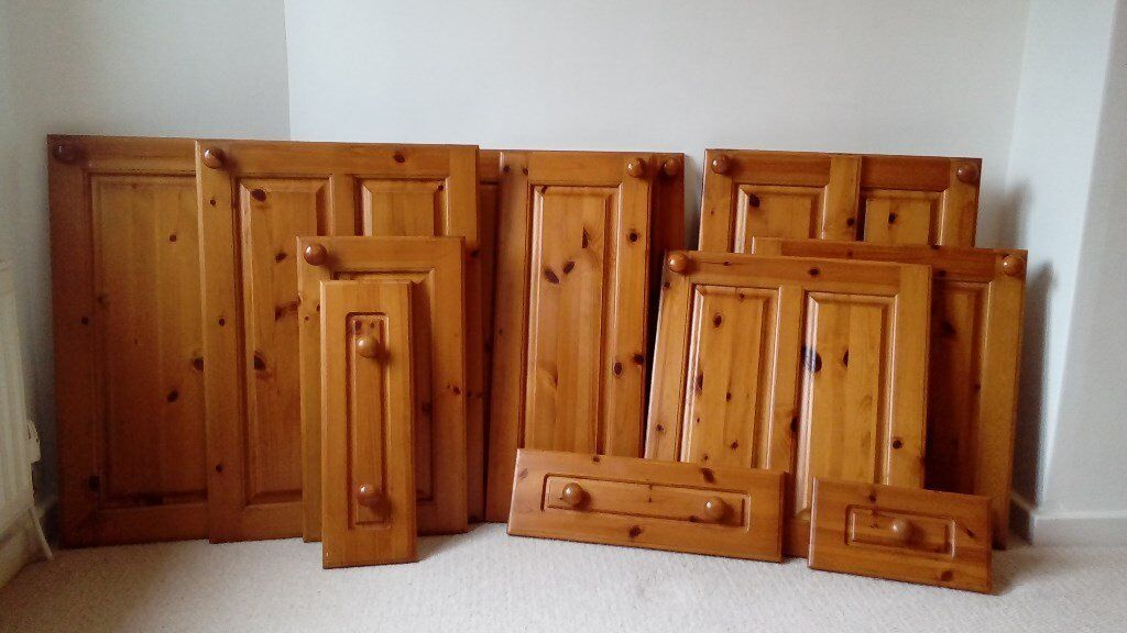 Antique Pine Kitchen Cupboard Doors for Sale - Antique Pine Kitchen Cupboard Doors For Sale In Eaglesham, Glasgow