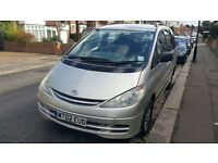 TOYOTA PREVIA DIESEL 8 SEATER EXCELLENT CONDITION