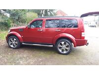 DODGE NITRO 4X4 LOVELY CONDITION WILL SWAP FOR RECOVERY TRUCK