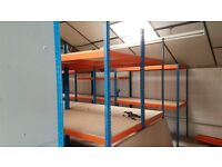 Large Quantity of Heavy Duty Modular Industrial Shelving - Dexion Impex Shelving
