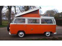 volkswagen inported from california 1968 camper van westfalia £16950 ono.