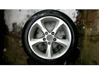 BMW 1 Series Alloy Wheels 16 inch with summer tyres 255 55 R16 x 4