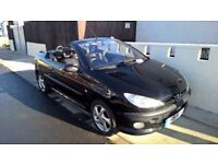 Peugoet 206 convertible for sale