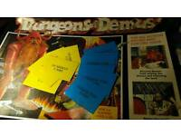 Dungeons of Demus spare cards