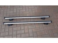 Thule Rapid System Aero Bars 861 120 cm long with Rapid System 755/757