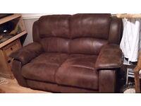 2seater reclining sofa