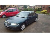 Rover 416 sli,1999 ,M0T nov 2017,automatic,low milage 78500 , good condition. Central locking