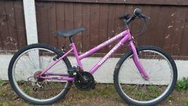 "Girls Universal 24"" Wheel Mountain Bike"