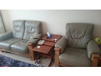 2 seater sofa plus 2 armchairs