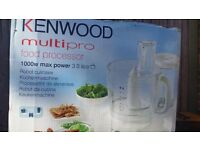 1000 W KENWOOD FP730 Multipro Food Processor 3L NEW £75 or Offers Welcome