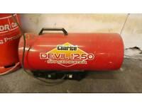 Clarke devil 1250 propane space heater