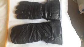 New motorbike gloves