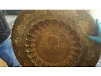 Antique copper plate