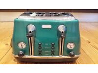 De'Longhi Icona Vintage toaster (x4) in excellent condition