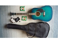 Marlin acoustic guitar and accessories