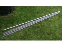 4 Lengths of plaster beading