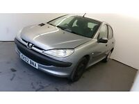 2002 | Peugeot 206 1.4 LX | Manual | Service History | 9 Months MOT | CHEAP TO INSURE | HPI Clear