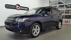 2014 Mitsubishi Outlander GT+ S-AWC/AWD + 7 PASSAGERS