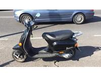 Piaggio Vespa scooter 50cc.
