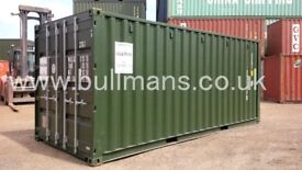 20ft new build / single trip shipping container steel container, storage container, site container