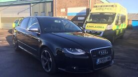 Unique Audi A4 S-Line 2.0 Turbo Diesel 6 Speed Sport - TOP SPEC - FULL OF EXTRAS - Private plate