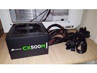 Corsair CX500M Power supply VGC!