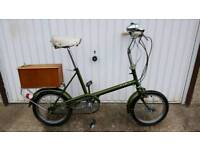 Raleigh Rsw 16 Vintage Bicycle For Sale in Great Riding Order and Good Condition