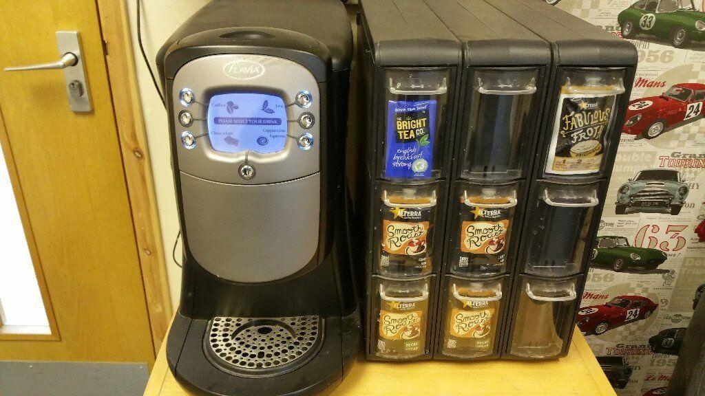 FLAVIA 400 COFFEE MACHINE AND SACHET DISPENSER