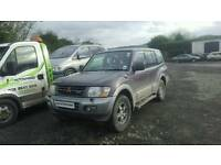 Mitsubishi shogun 3.2did auto *** BREAKING