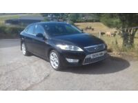 2009 Ford Mondeo 2.2 TDCi Titanium X, 12 Months Mot, Panther Black, Heated Half Leather