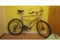 Mountain aluminium frame bike