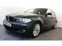 2009 | BMW 118D 2.0 M SPORT | REAR SENSORS| HALF LEATHER | CARBON FIBRE | YR MOT | FULL HIST
