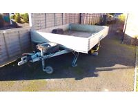 Large Trailer ,galvanise chassis,brakes and good tyres