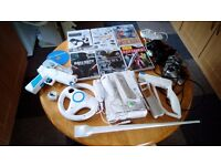 Nintendo WII, controllers and 6 games